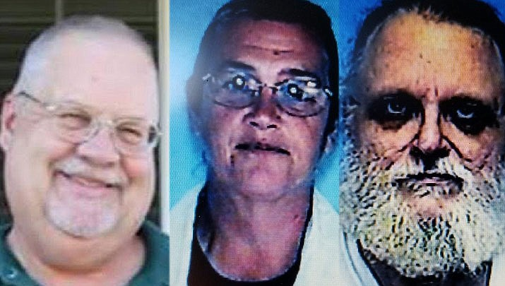 James Keel, Nancy Walker, and Ebert Johnson were found dead in a vehicle Tuesday afternoon, according to the Mohave County Sheriff's Office.