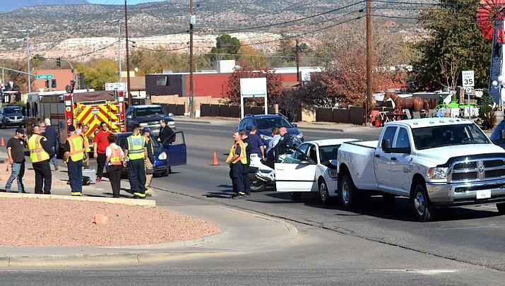 Police say Main Street crash result of 'road rage'