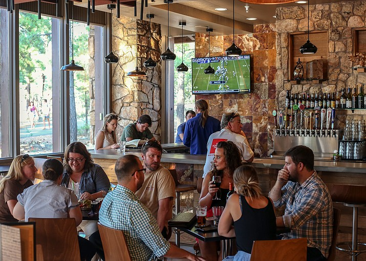 Yavapai Tavern is one of five Grand Canyon restaurants operated by Delaware North to receive Green Restaurant Certification. (Photo courtesy of Delaware North)