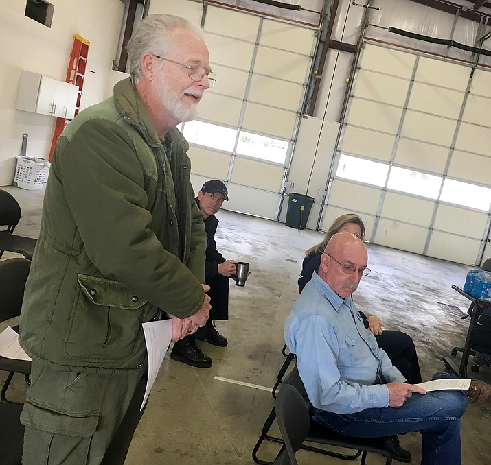 """Camp Verde Town Council member Brad Gordon attended """"a lot of the meetings"""" connected with the merger of the Camp Verde and Montezuma-Rimrock fire districts. Said Gordon, the merger """"means a lot more efficiency for taxpayer dollars."""" VVN/Bill Helm"""