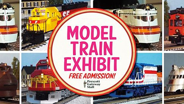 Bradshaw Mountain High Railers Model Trains running at Prescott Gateway Mall from 10 a.m. to 4 p.m. for your after Thanksgiving shopping day enjoyment.