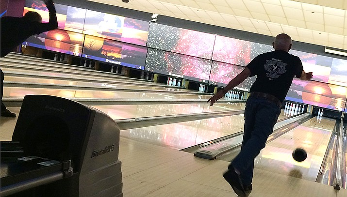 Formed in 2010, the BeneVET Bowling FunFest, held Jan. 26-27 at Cliff Castle Casino's Shake, Rattle and Bowl, has raised money for various equipment for the Prescott VA's physical therapy department. VVN/Bill Helm