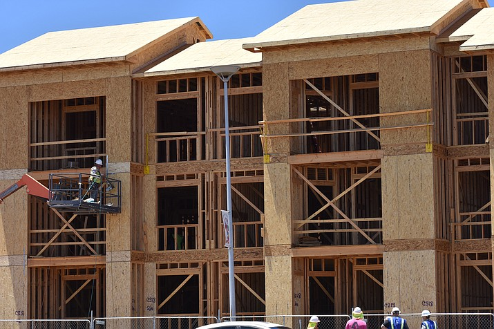 Building service fees provide a mechanism in maintaining property values and helping in the construction of safe and healthy structures, according to Development Services information provided at the Nov. 7, 2018, meeting. (File photo by Richard Haddad/WNI)