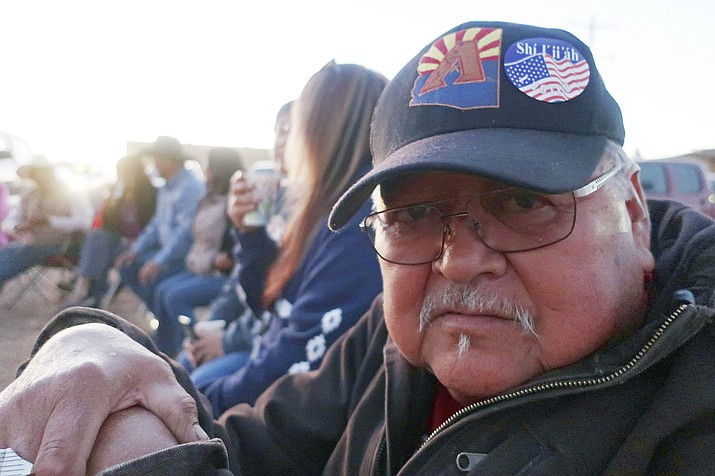 Jim Store, a voter on the Navajo Nation, in his hometown of Leupp on Nov. 6, 2018. The Navajo Nation has dropped a legal claim that could have delayed formal certification of the general election results. (Felicia Fonseca/AP, file)