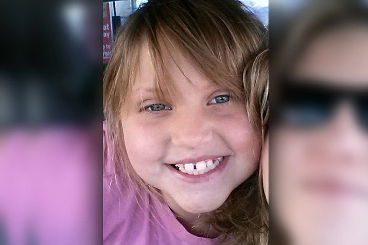 Bella Grogan-Cannella was 8 years old when she was allegedly kidnapped, raped and murdered by Justin James Rector in Bullhead City in September 2014. (Courtesy photo)
