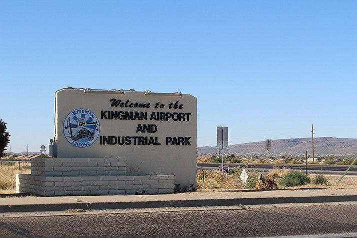 Kingman Airport and Industrial Park was taken back by the City of Kingman through a condemnation notice filed in December 2017. (Photo by Hubble Ray Smith/Daily Miner)
