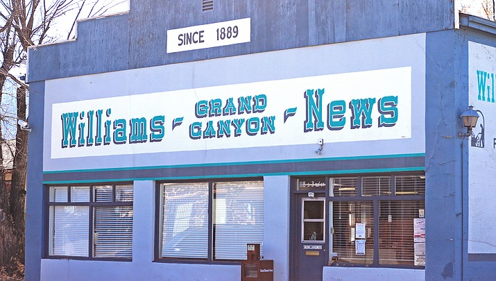 Update: Williams-Grand Canyon News office open Feb. 22
