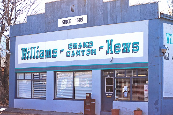 The Williams News has been reporting on the Williams community since 1889.
