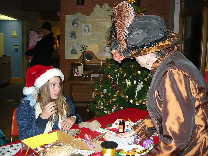 Celebrate the holidays by taking a look into how Christmas was during a simpler time at Sharlot Hall Museum's annual Frontier Christmas Open House Saturday, Dec. 1, at the museum. (Ken Leja/Courtesy)