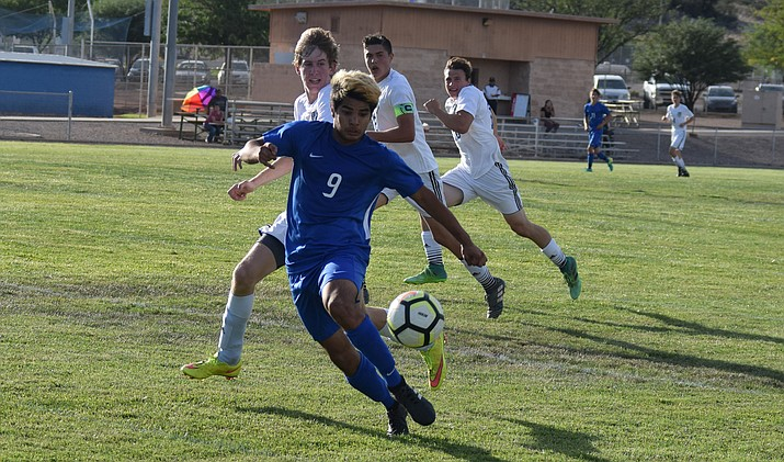 Camp Verde senior Brandon Cruz was named Central Region defensive player of the year. VVN/James Kelley
