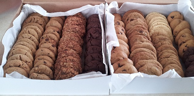 Cookies are some of the many things that will be sold at the Route 66 Bakery opening next year. (courtesy of Route 66 Bakery)