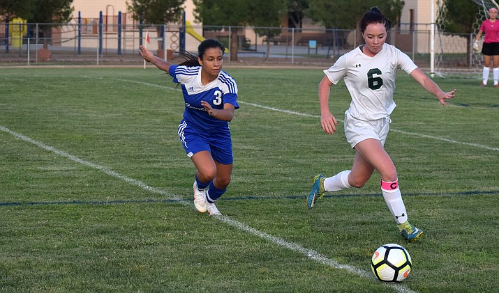 Camp Verde senior Eliana Paniagua (3). VVN/James Kelley