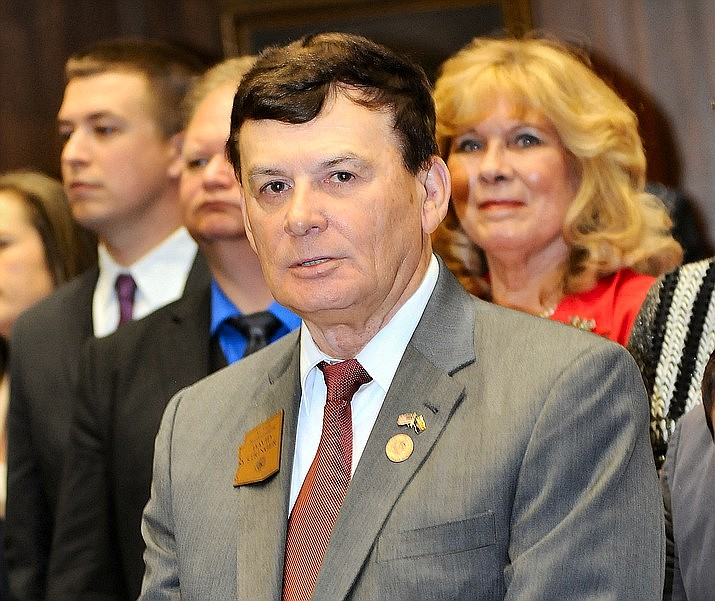 Rep. David Stringer earlier this year at the state Capitol. (Howard Fischer, Capitol Media Services/file photo)