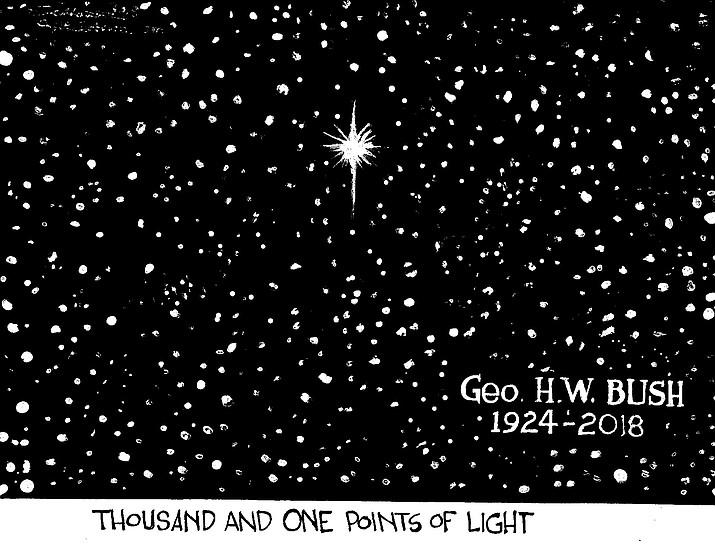 Editorial Cartoon (2): December 4, 2018
