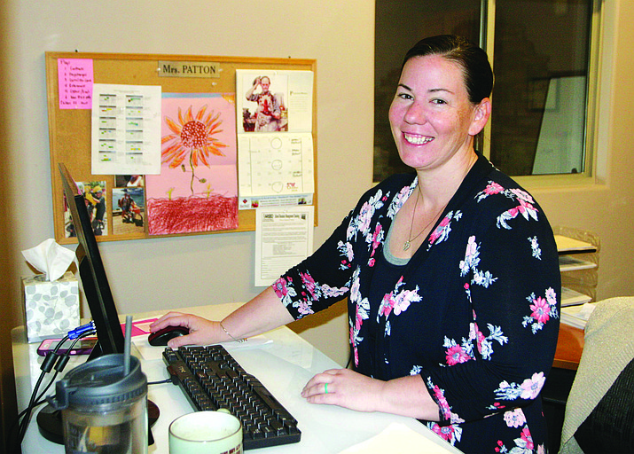 Recently promoted to business manager at Valley Academy of Career and Technology Education, Shawnna Patton has been in education almost a decade, the past five years at the career and technical education program. VVN/Bill Helm