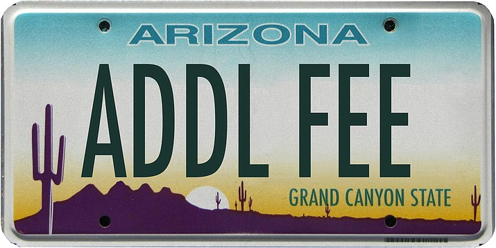 As of Dec. 1 an new fee established by state law to support public safety and highway patrol operations will increase vehicle registration in Arizona. (Photo/ADOT)