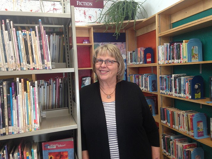 Chino Valley's Children's Librarian Darlene Westcott. (Diane DeHamer/Courtesy)