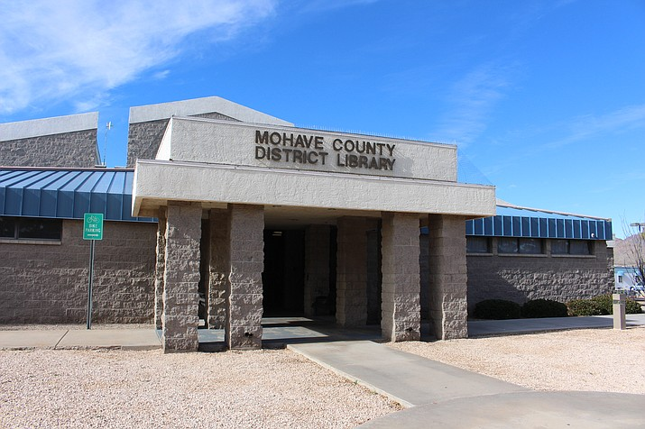 Mohave County Library at 3269 Burbank St. has been approved for a $4 million expansion with the work contracted to T.R. Orr. (Photo by Hubble Ray Smith/Daily Miner)