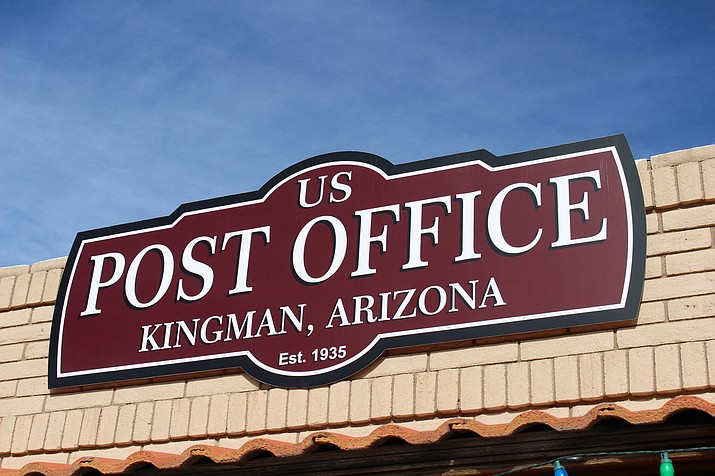 Both U.S. Post Office locations in Kingman will be closed Wednesday in honor of former President George H.W. Bush. (Photo by Hubble Ray Smith/Daily Miner)