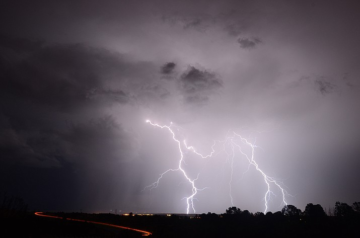 The severe & Hazardous Weather in Northern Arizona presented by Dr. Curtis James. (Courtesy)
