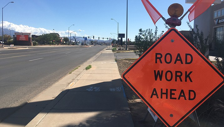 Upon completion of patching, the next work zone will be from the traffic signal at Chili's to Gordon Drive. (KDMiner file photo)