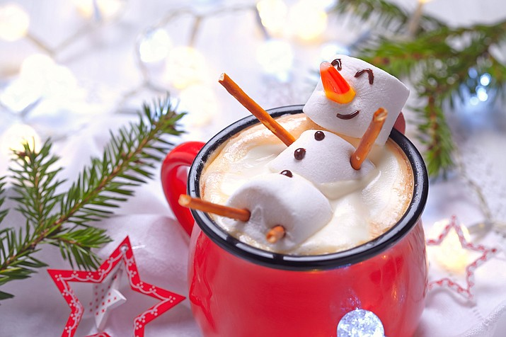 Cure the holiday blues with a wonderful cup of hot chocolate. (Adobe Images)