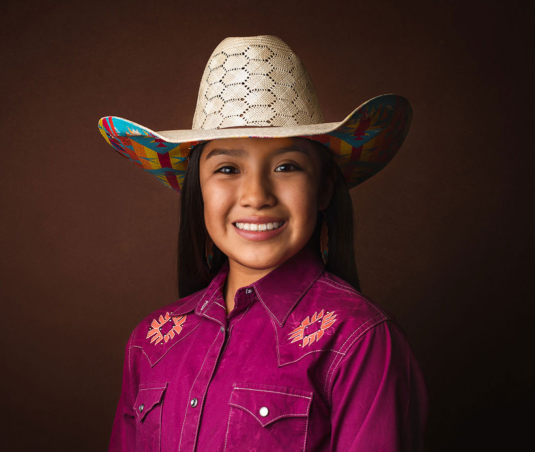 Local Cowgirl Taliyah Bowman Crook Off To Vegas For Jr