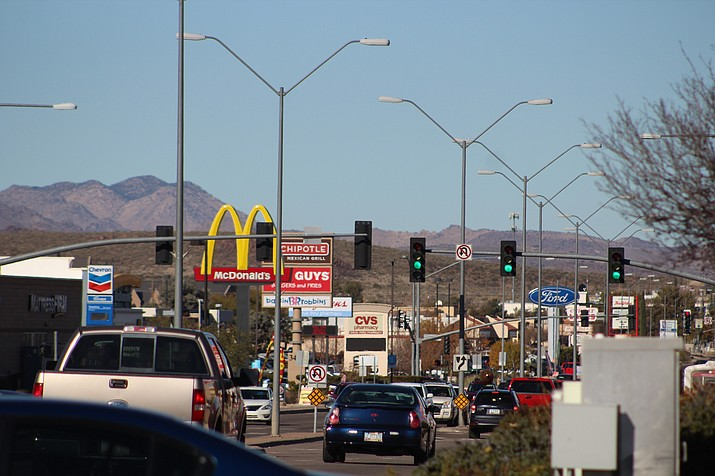 More than half of the restaurants in Kingman are fast food. The majority of them are on Stockton Hill Road and Andy Devine Avenue. (Photo by Vanessa Espinoza/Daily Miner)