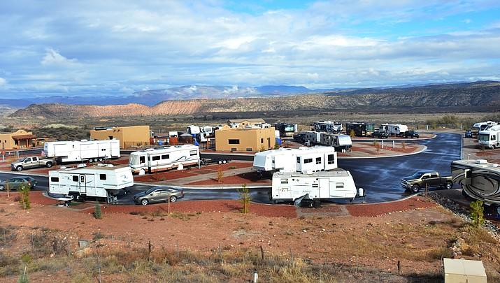 Stay at the Verde Valley's newest RV Resort – just not forever
