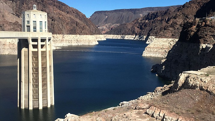 With drought continuing and reservoirs shrinking, several Southwestern U.S. states that depend on the Colorado River had been expected to ink a crucial share-the-pain contingency plan by the end of 2018. Officials now say they're not going to make it, at least not in time for upcoming meetings in Las Vegas involving representatives from Arizona, California, Colorado, Nevada, New Mexico, Utah, Wyoming and the U.S. government. (File photo)