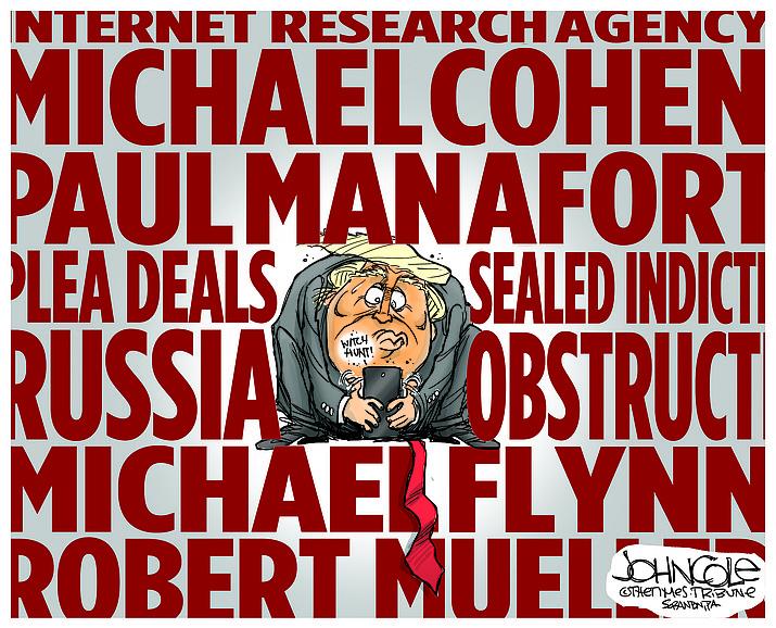 Editorial cartoon (1): Dec. 10, 2018