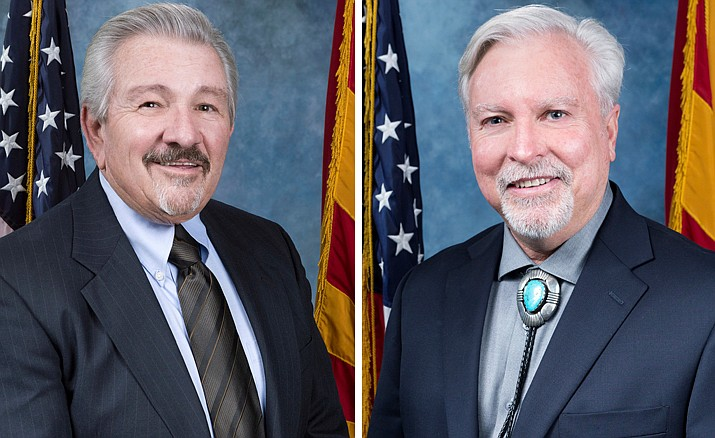 Yavapai County Board of Supervisors on Dec. 5 nominated and elected Vice Chair Randy Garrison to serve as chair and Supervisor Craig Brown.