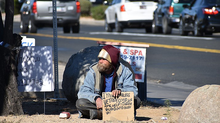 Better Bucks program designed  to help ease Prescott Valley panhandling concerns