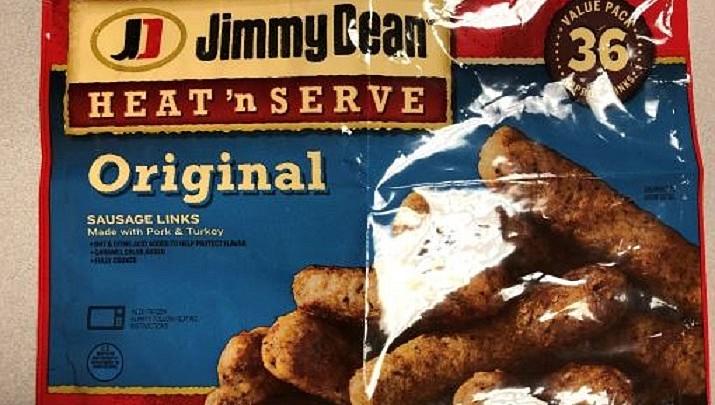 Jimmy Dean sausage recalled