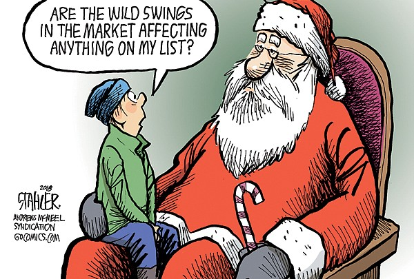Editorial Cartoon: Dec. 12, 2018