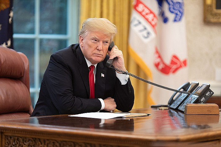 """The president """"may not rewrite the immigration laws to impose a condition that Congress has expressly forbidden,"""" the judge said in his order. (Official White House Photo by Joyce N. Boghosian)"""
