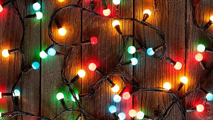View the Christmas Lights Contest map! (Courier file photo/Adobe)