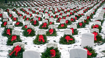 Wreaths Across America event scheduled for Saturday - rain, shine or snow photo