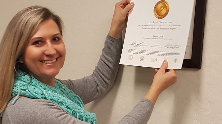 West Yavapai Guidance Clinic again earns Joint Commission Accreditation
