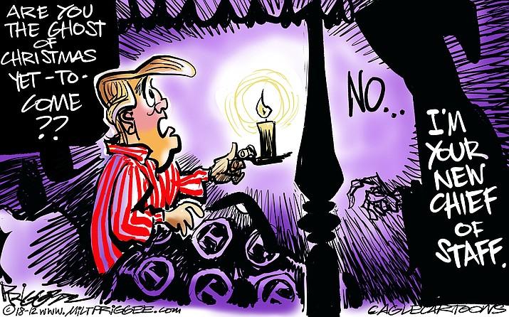 Editorial cartoon (1): Dec.14, 2018