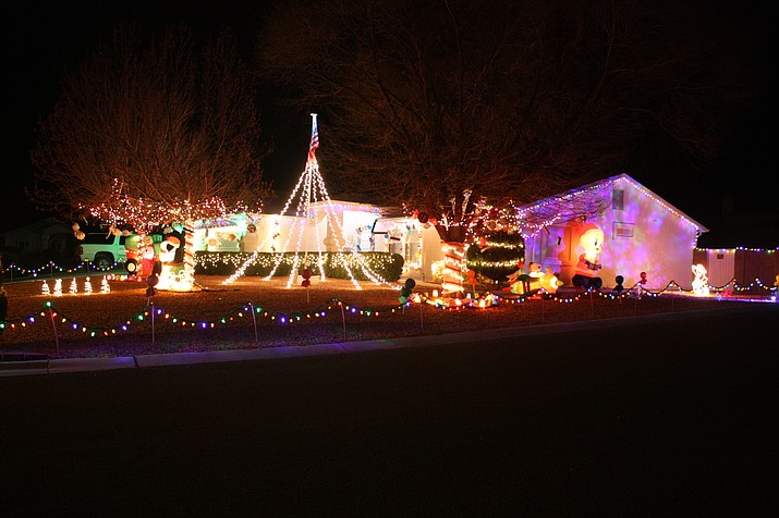 See The Daily Courier's 2018 Holiday Lights Map at: dcourier.com/lights