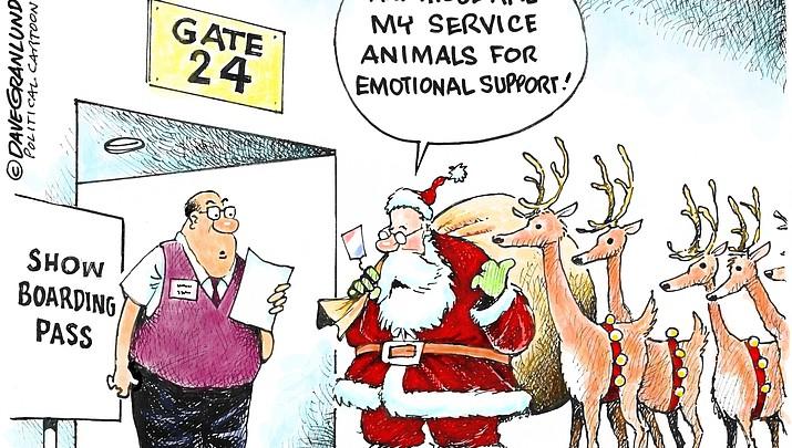 Editorial Cartoon   December 14, 2018