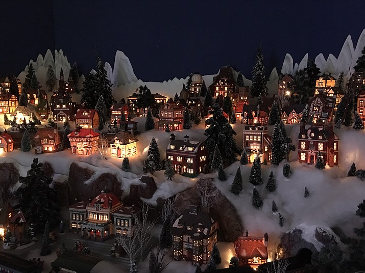 It's not a miniature Prescott, but it is the Enchanted Christmas Indoor Tour of Lights display in Prescott at the Depot Marketplace, 377 N. Montezuma St., Suite 101. And, today, Dec. 30, is the last day it will be open. For details visit dCourier.com or call 1-800-651-8006. (Courier, file photo)