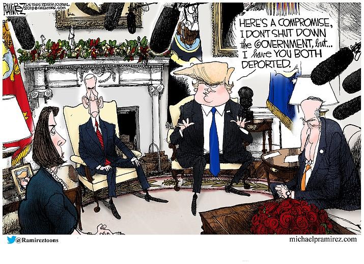 Editorial cartoon (2): Dec.14, 2018