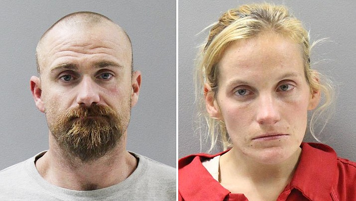 Jimmy Penner, 31, and Kayla Long, 29, were both arrested Wednesday, Dec. 12, in Prescott after they were found to be in possession of methamphetamine and a stolen gun.