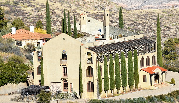 The Little Daisy Hotel in Jerome is now a mansion and is for sale for $6.2 million. A laser show will celebrate its 100th anniversary. VVN/Vyto Starinskas