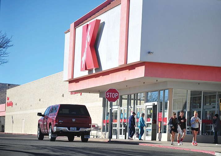 Kmart in Prescott Valley, at 7550 Highway 69, closed in April 2016, and the building now has a new owner — Pruitt's Fine Furniture — which expects a March 2019 opening. (Les Stukenberg/Courier, file)