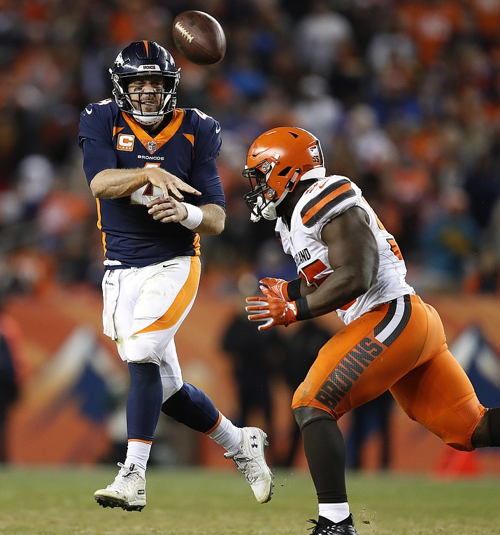 Cleveland Browns Beat Injury-plagued Broncos