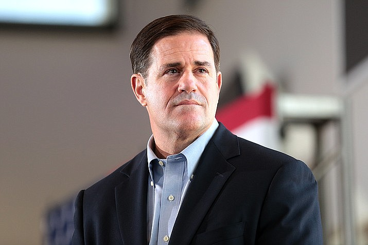 Gov. Doug Ducey's reelection campaign is quietly conceding that a $500,000 donation listed as coming from a newly formed company actually was a billionaire who works for a company that owns more than two dozen auto dealerships in the state. (File photo)