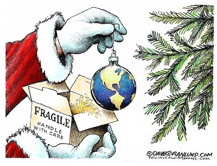 Editorial cartoon (1): Dec 18, 2018